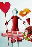 Zweibrüder, LED Figur E-Girl, 2-A Candelgirl - mit 7-Farbwechsler Lampenkopf