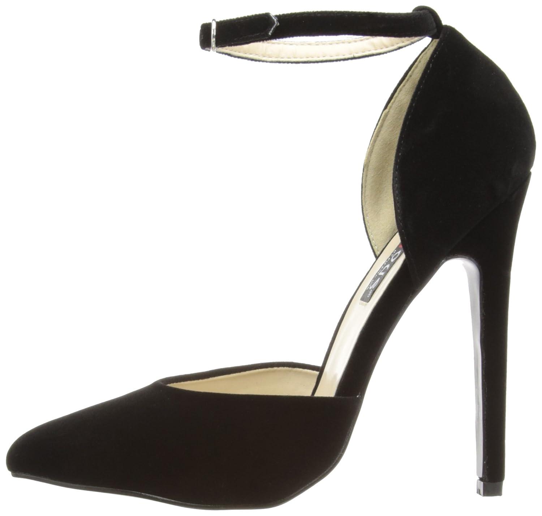 f4611571788df Pleaser EU-SEXY-21 - Zapatos de tacón de Terciopelo Mujer  Amazon.es   Zapatos y complementos
