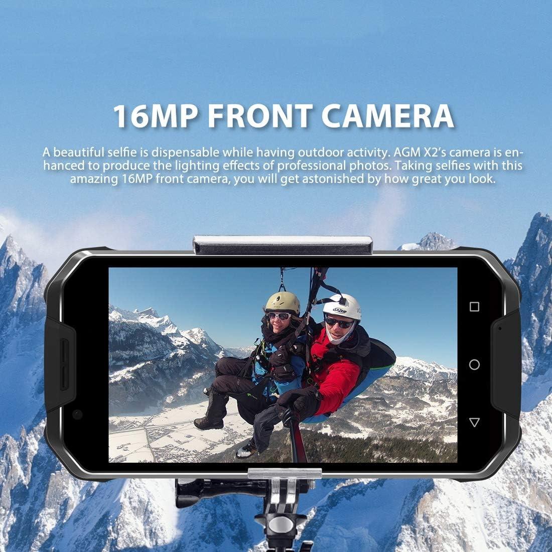 4 G LTE Smartphone sin Contrato, AGM X2 IP68 Resistente al Agua ...
