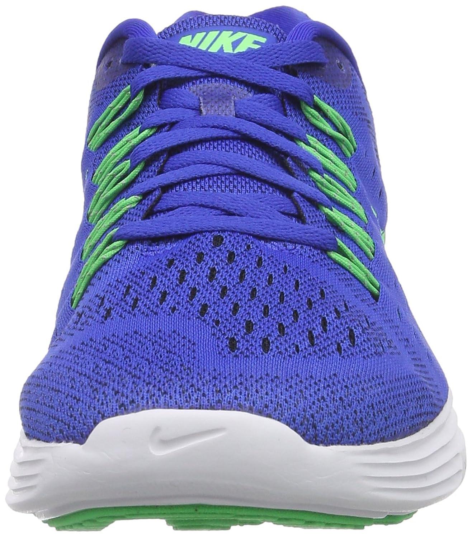 Amazon.com | Nike Mens Lunartempo Lyon Blue/Psn Green/White/Blk Running Shoe  11 Men US | Road Running