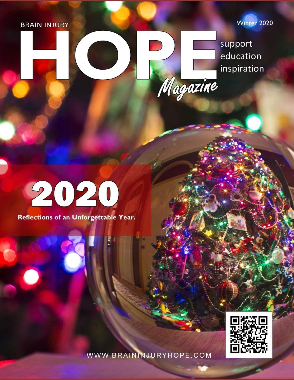 Brain Injury Hope Magazine - Winter 2020