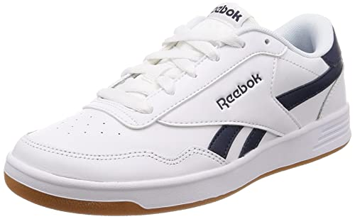7e0875e4c422 Reebok Men s Royal Techque T White Collegiate Navy Gum Tennis Shoes-10 UK