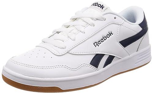 c4c5fbc2505c9d Reebok Men s Royal Techque T White Collegiate Navy Gum Tennis Shoes-10 UK