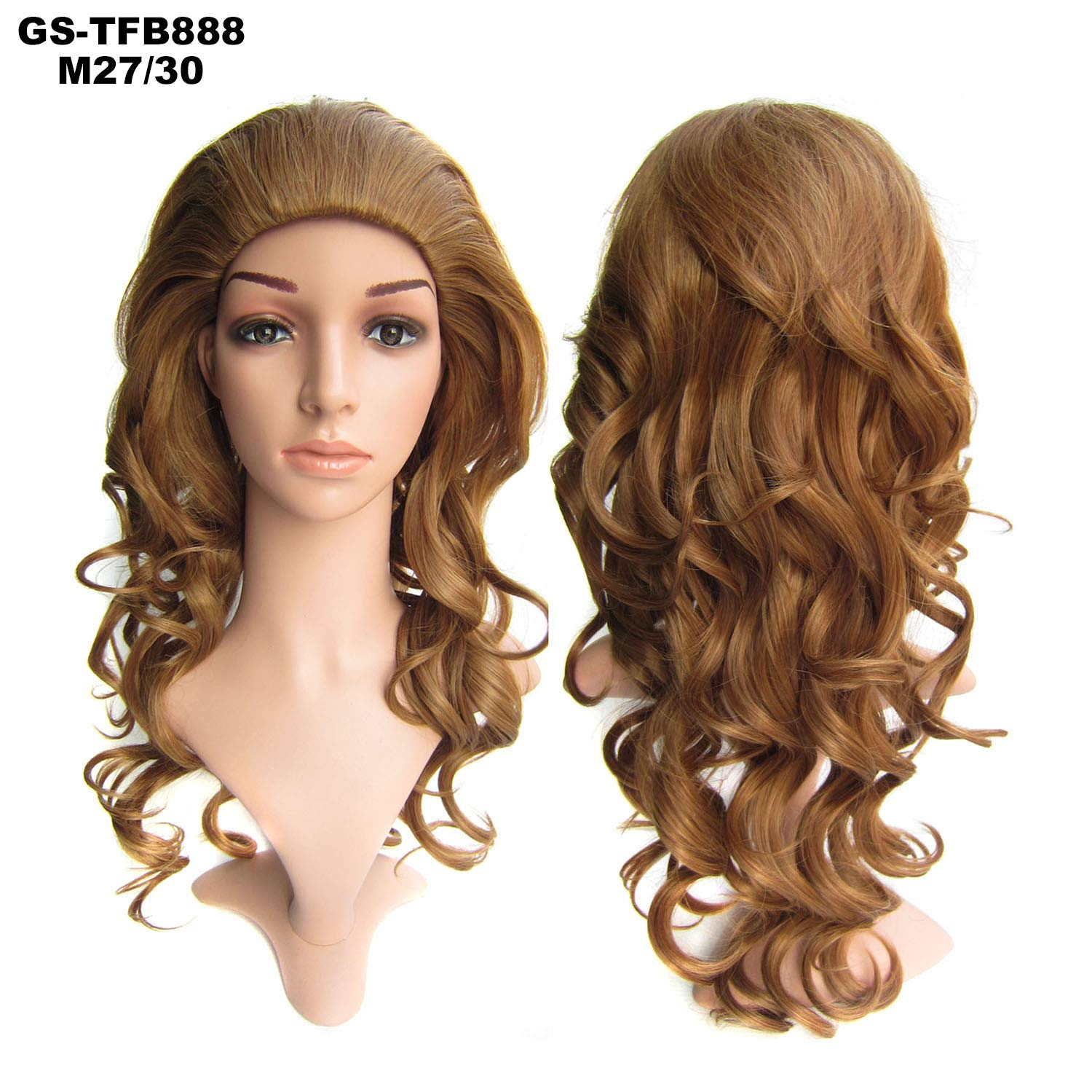 Amazon Com Simusty 9colors 3 4 Half Hair Extensions Body Wave