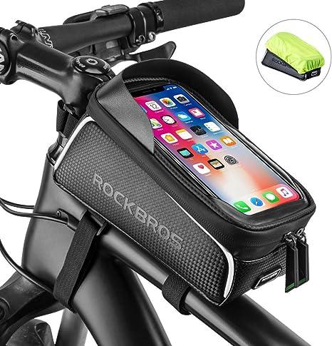 ROCKBROS Bolsa de Cuadro de Bicicleta MTB Montaña Carretera con ...