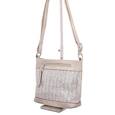 53c4907e7d8c2 Gabor Davina Womens Messenger Handbag One Size Taupe  Amazon.co.uk ...