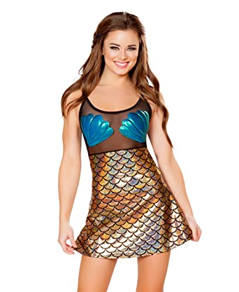 8afa03db104 Amazon.com  J. Valentine Women s Mesh Mermaid Dress  Clothing