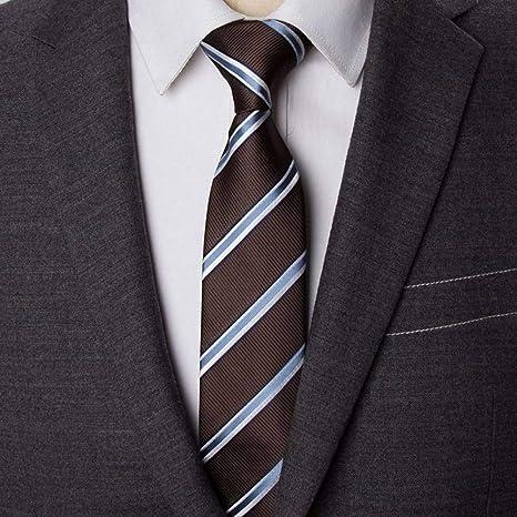 KYDCB Corbata de Rayas para Hombre de Negocios de Corbatas de ...