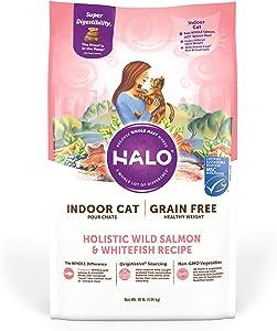 Halo Grain Free Indoor Healthy Weight Dry Cat Food