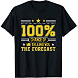 100 Percent Chance Telling You The Forecast Meteorologist