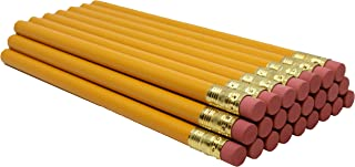 product image for RevMark Jumbo Round Pencil 24-Pack with Black Lead, USA Made. Quality Cedar Wood for Carpenters, Construction Workers, Woodworkers, Framers, DIY, Students, Teachers (Yellow)