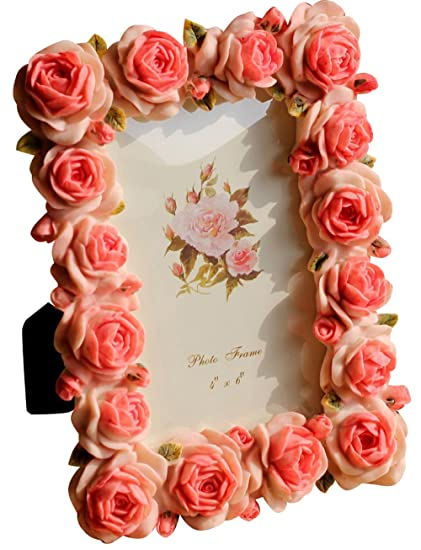 Amazon Giftgarden Rose 4x6 Picture Frames For Photo 4 By 6