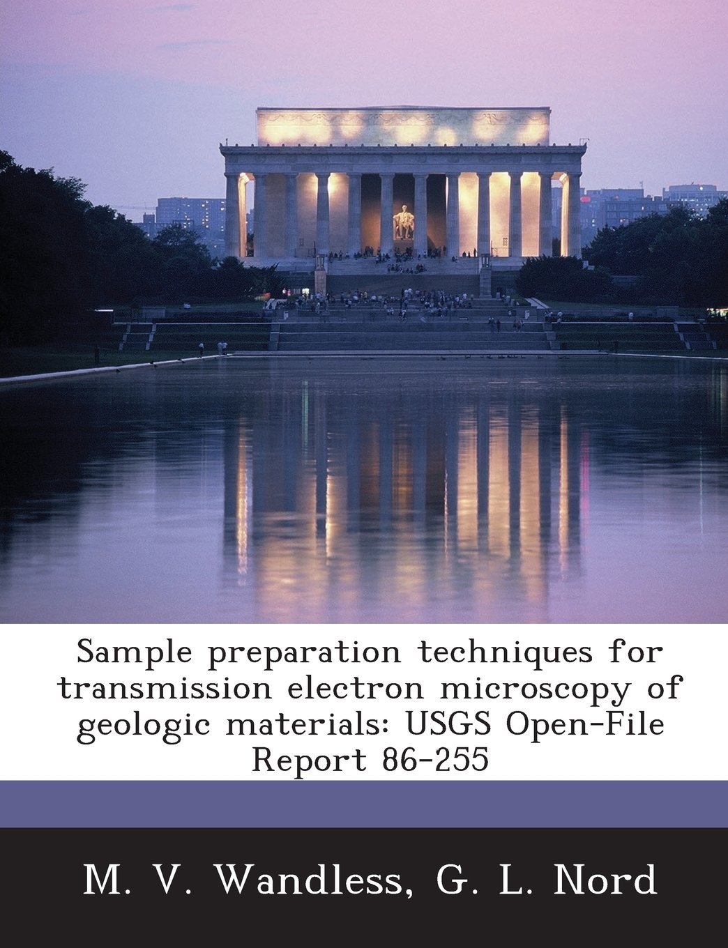 Download Sample preparation techniques for transmission electron microscopy of geologic materials: USGS Open-File Report 86-255 pdf