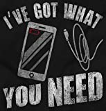 Got What You Need Cellphone Charger Funny Zip