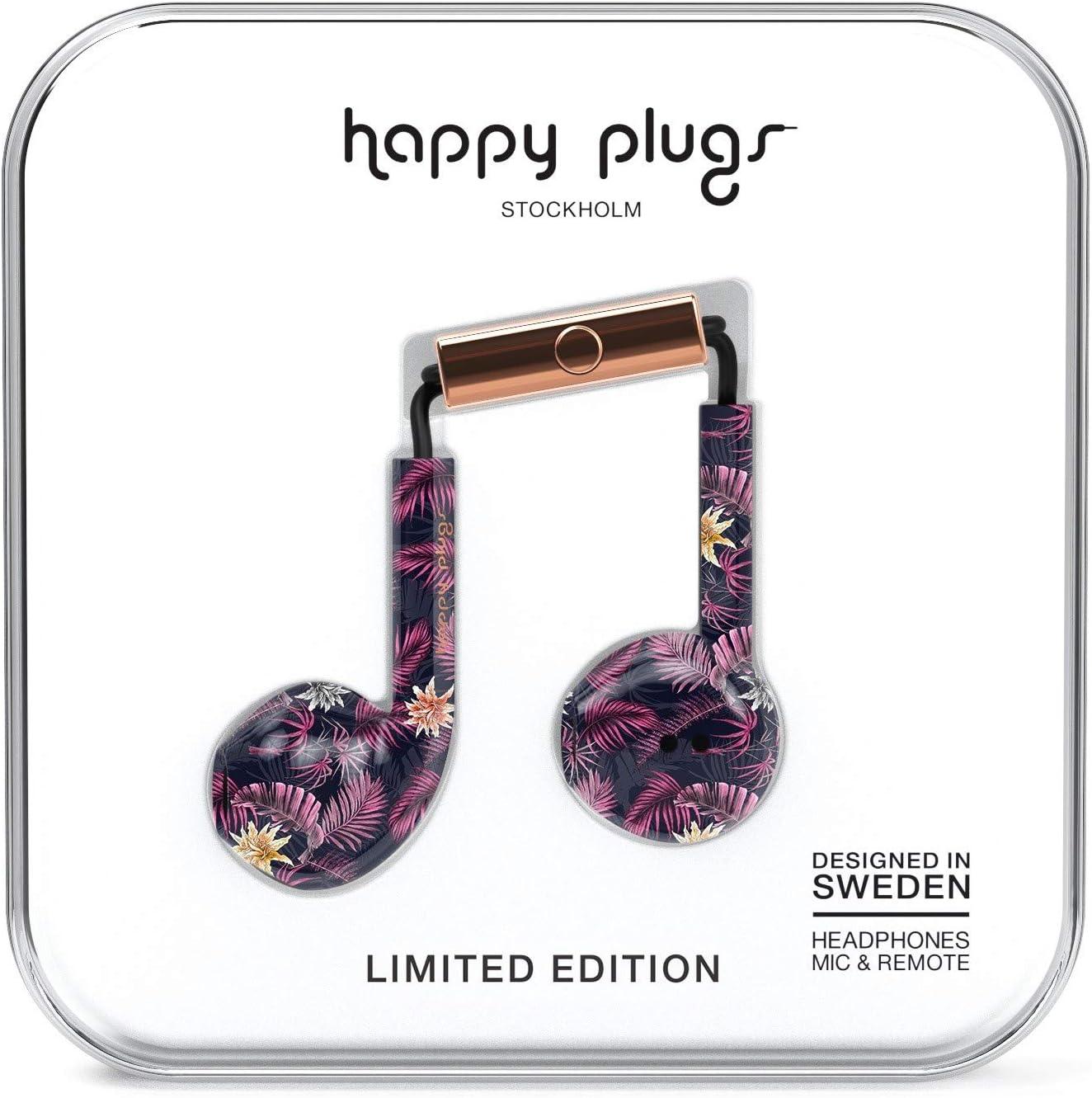 Happy Plugs Earbud Plus In Ear Headphones Hawaiian Elektronik