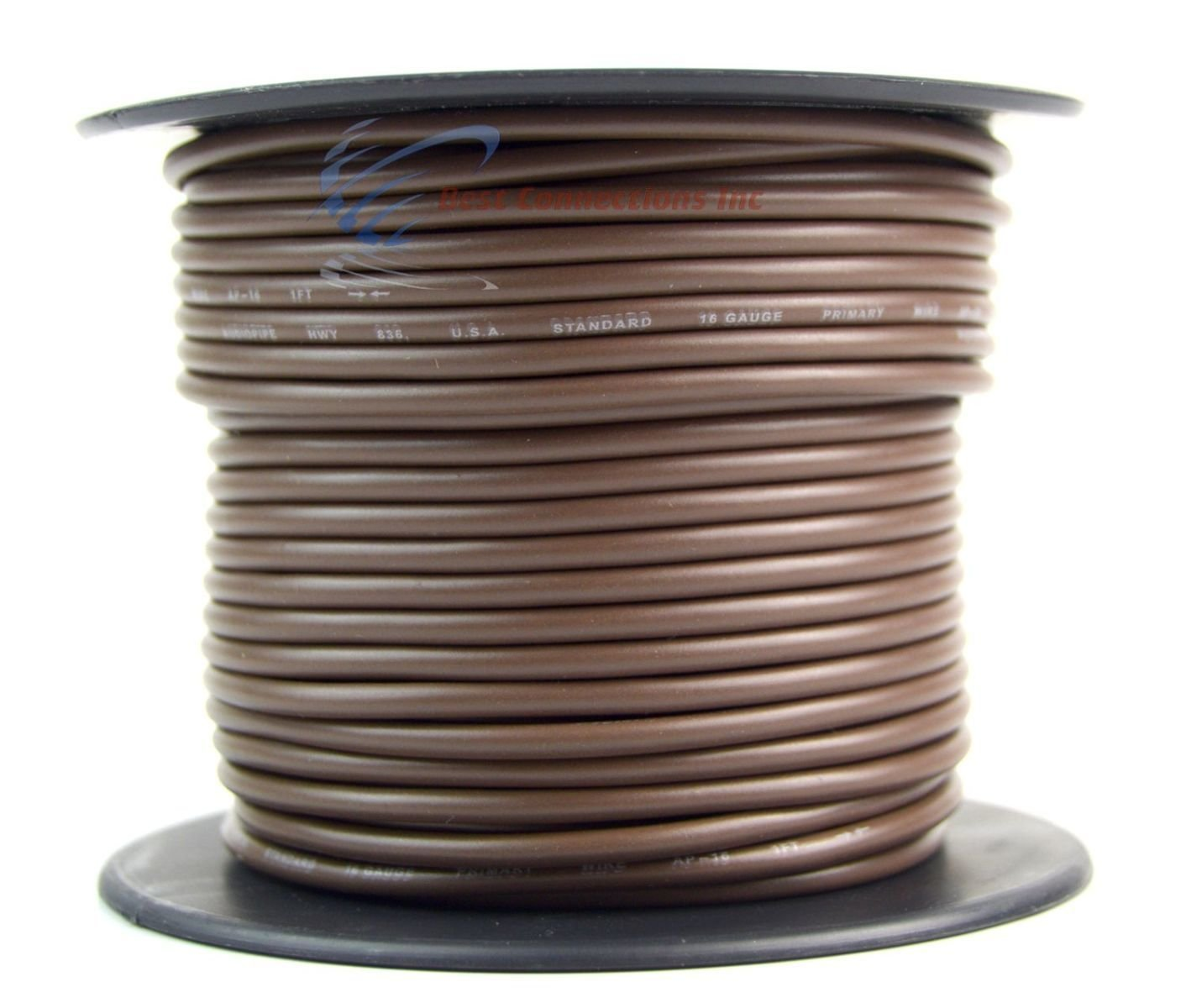 Trailer Wire Light Cable For Harness 7 Way Cord 16 Gauge Electrical Wirepvc Coated Electric Copper Wire7 Stranded 100ft Roll Rolls Automotive