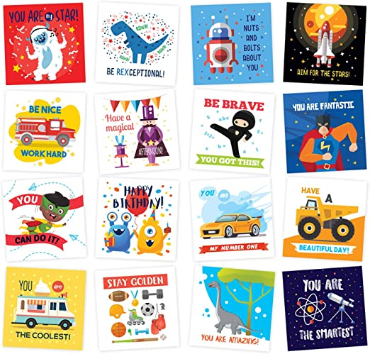 Lunchbox cards