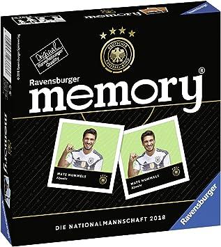 Ravensburger 26783 Memory la selección 2018 Juego de Mesa.: Amazon ...