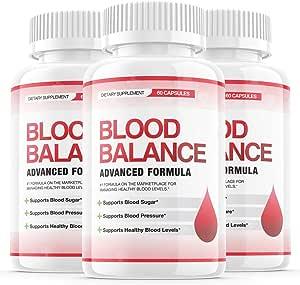 Amazon.com: (3 Pack) Blood Balance Advanced Formula Pills..