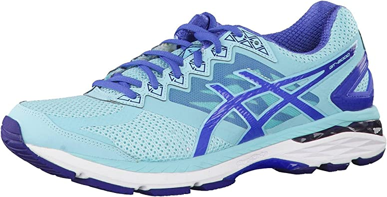 Asics - Zapatillas de running para mujer Turquesa turquoise-indigo blue-slate blue: Amazon.es: Zapatos y complementos