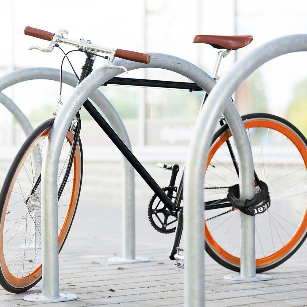 Terra Hiker Candado para Bicicletas, Candado Bicicleta Alta Seguridad, 100cm, Cerradura de Combinación de 5 dígitos para Bicicletas, para Moto, Sin Llaves y Reforzado: Amazon.es: Deportes y aire libre
