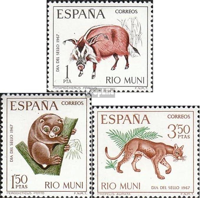Prophila Collection Río Muni Michel.-No..: 80-82 (Completa.edición.) 1967 día el Sello (Sellos para los coleccionistas) Otros mamíferos: Amazon.es: Juguetes y juegos