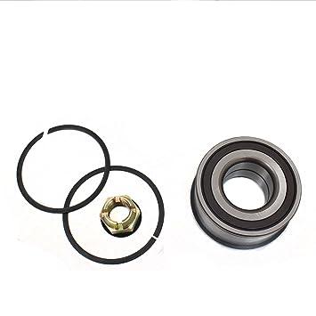 Cubo de rueda rodamientos para ajuste para Renault Clio II: Amazon.es: Coche y moto