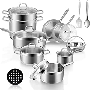 10 Best Cookware for Electric Glass Top Stove You Can Buy in 2021! 1