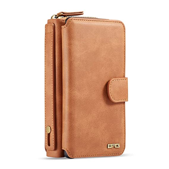info for dc87d ee23b Amazon.com: Galaxy Note 9 Wallet Case,BRG Premium PU Leather Large ...