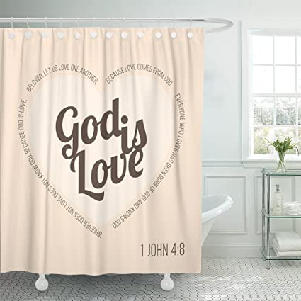 Image Unavailable Not Available For Color Emvency Shower Curtain Bible Verse
