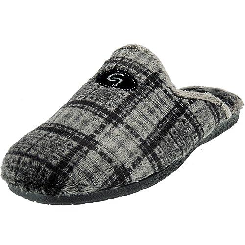 GARZÓN 6001.292 Zapatilla Chinela de Casa Invierno Hombre: Amazon.es: Zapatos y complementos