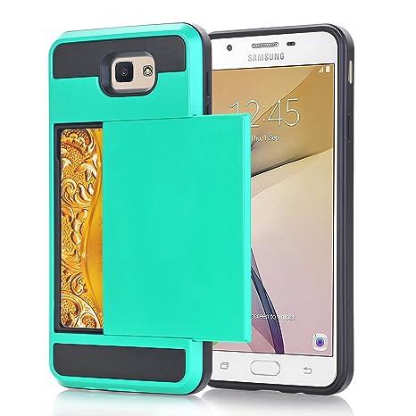 Alfort Funda Samsung J5 Prime, 2 en 1 Carcasa Samsung Galaxy ...
