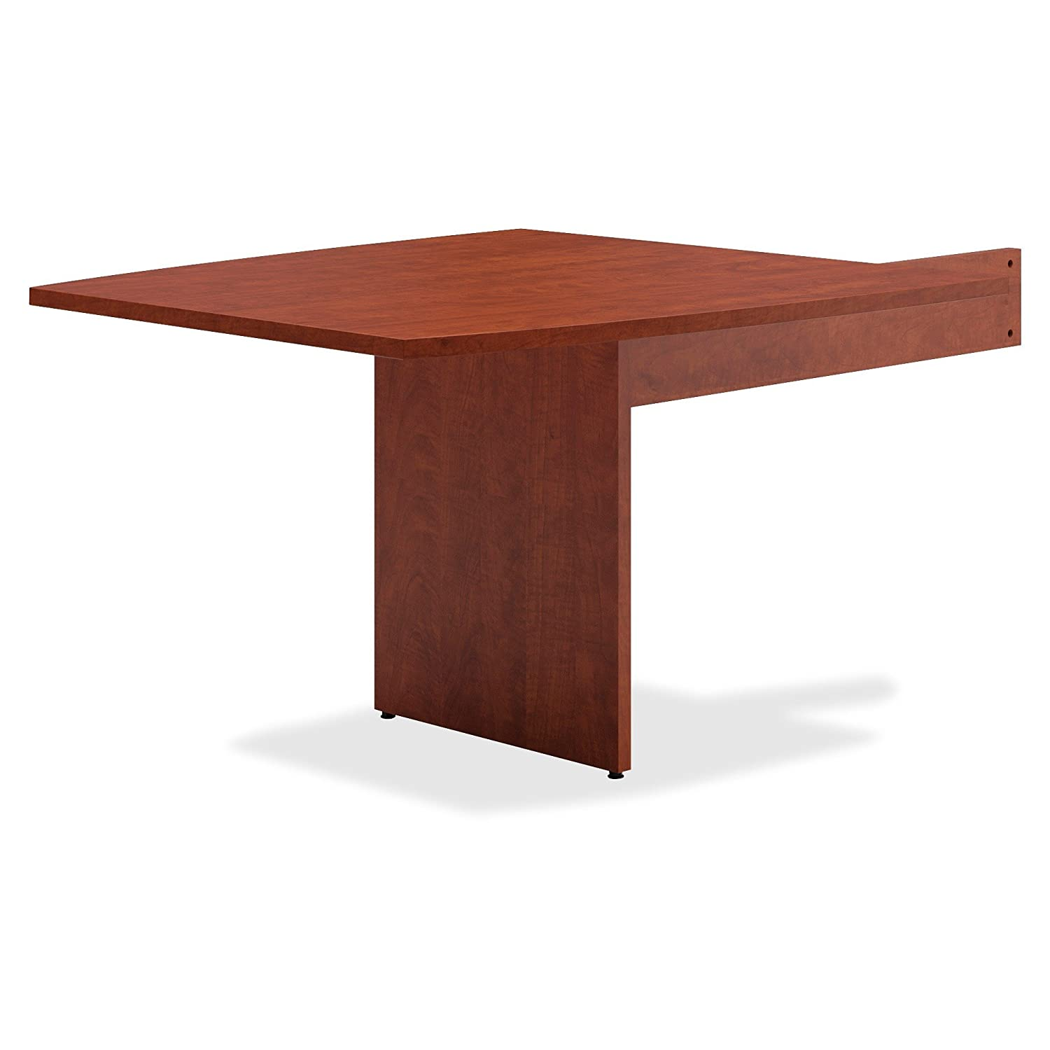 Exceptionnel Amazon.com : Basyx BLMTO48BA1A1 BL Laminate Series Boat Shaped Modular  Conference Table End, Boat, Medium Cherry : Office Products