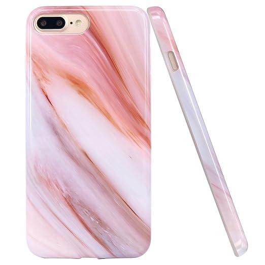 7 opinioni per Cover iPhone 8 Plus, JIAXIUFEN TPU Gel Silicone Protettivo Custodia Case Cover