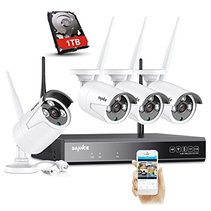 Baby Have An Inquiring Mind Sannce 1080p Wireless Wifi Ip Camera With Night Vision