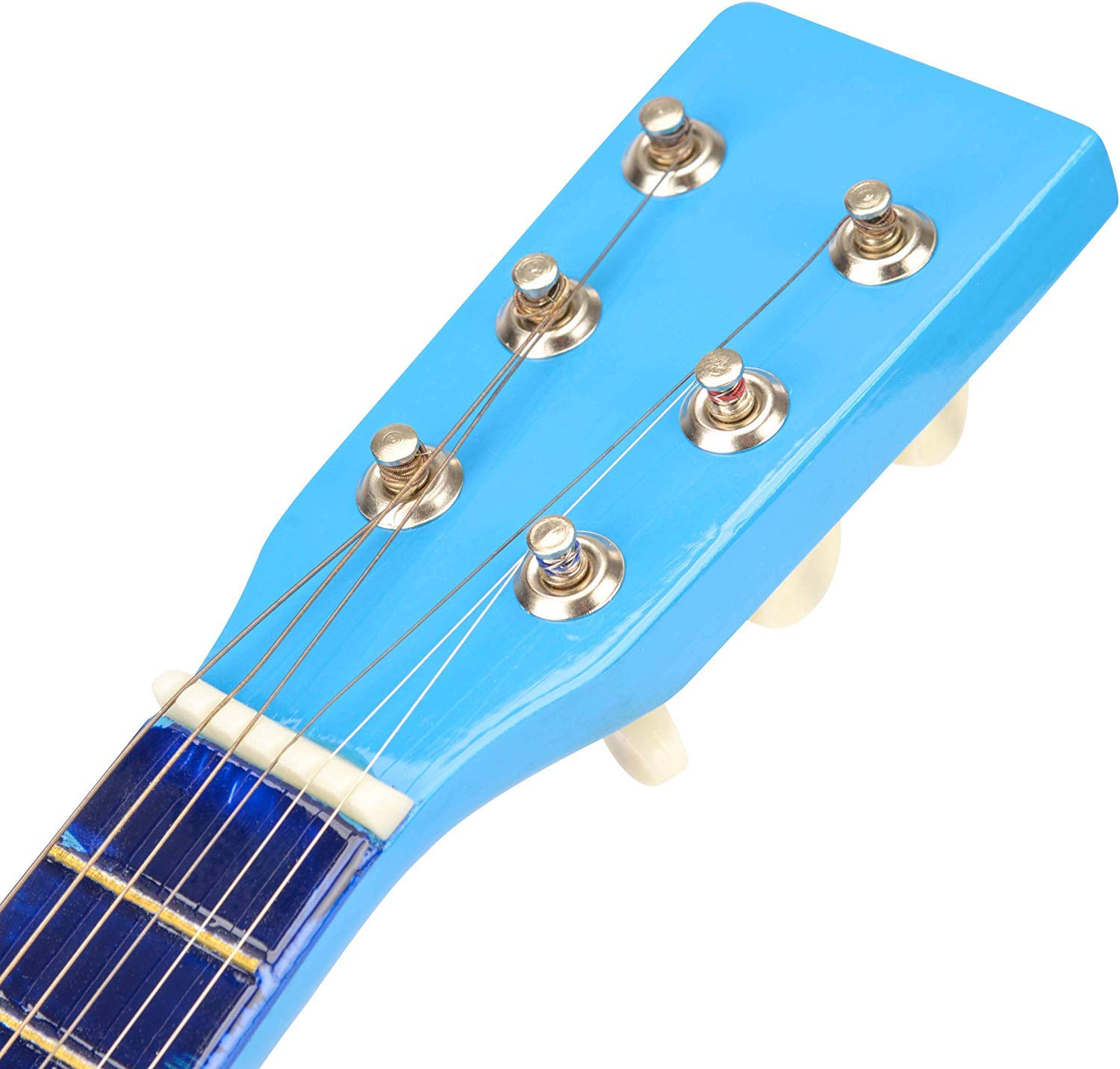 Blue 23 Inch Unibos Kids Toy Acoustic Guitar Wooden Toy Instrument