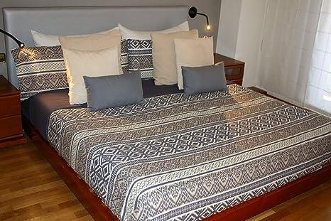 Juego de sábanas Algodón 100% ETHNIC (para cama de 90x190/200)
