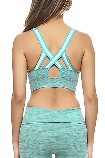 3ea8754e70594 Women s Active Ombre Sports Bra and Leggings Performance Set at Amazon  Women s Clothing store