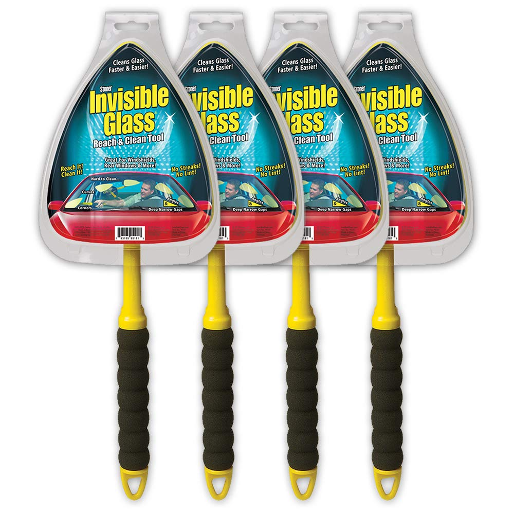 Stoner 95161 Invisible Glass Reach and Clean Tool, pack of 4