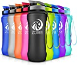 Best Sports Water Bottle, 1L /800ml /600ml, Leak Proof, BPA Free Eco-friendly Plastic Drink Bottles For Gym,Outdoor,Camping,Cycling,Hiking,Fitness,Yoga,Running- With Filter,Wide Mouth,Fast Water Flow