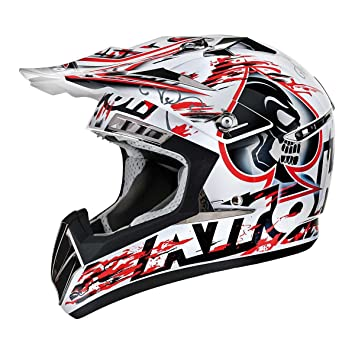 Airoh CR900 Raptor Motocross Helmet XS Red (CRP55)