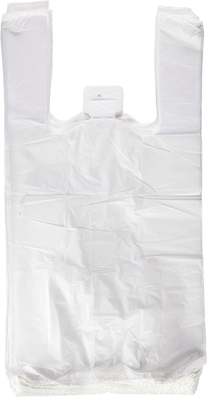 Plasbel - Bolsas de Plastico Asa Camiseta, 40 x 50 cm, 200 unidades