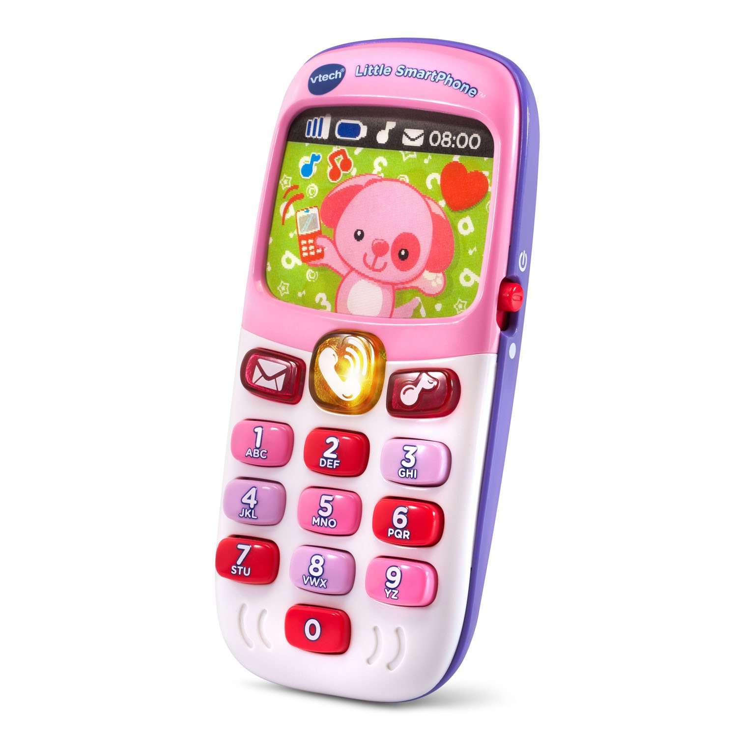VTech Little Smartphone Amazon Exclusive, Pink 80-138150