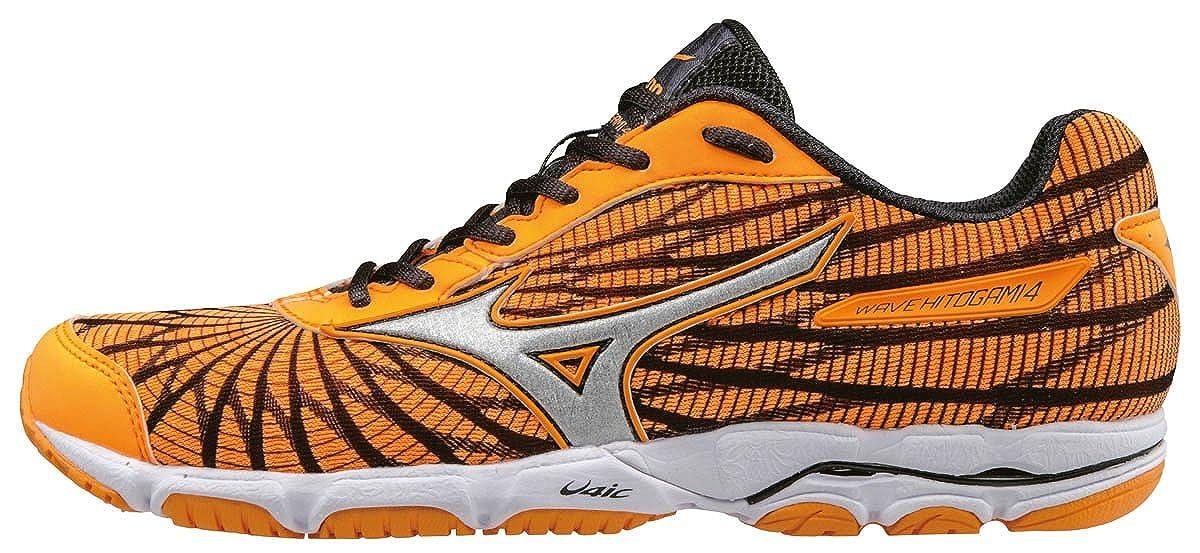 Mizuno Wave Hitogami 4 (W), Zapatillas de Running para Mujer, Naranja