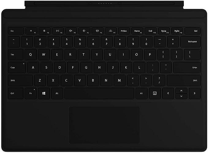 Funda de Tipo Micro Soft de Clavier para Surface Pro Noire ...