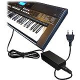ABC Products® Remplacement Yamaha 12V / 12 Volt / DC 12V Adaptateur Secteur Mur Cable (PA-5D/PA-150/PA-150A/5D/SEPA6/PA-6/PA-3C/EP-A3/KP-A3/PA-130/PA4/PA-40/PA-3B/PA-3C/PA-1/PA-1B) pour Yamaha Synthesizers / Stage Piano's / Portable Keyboards / Piaggero Digital Piano / Drum Machine Serie etc (modèles indiqués ci-dessous)