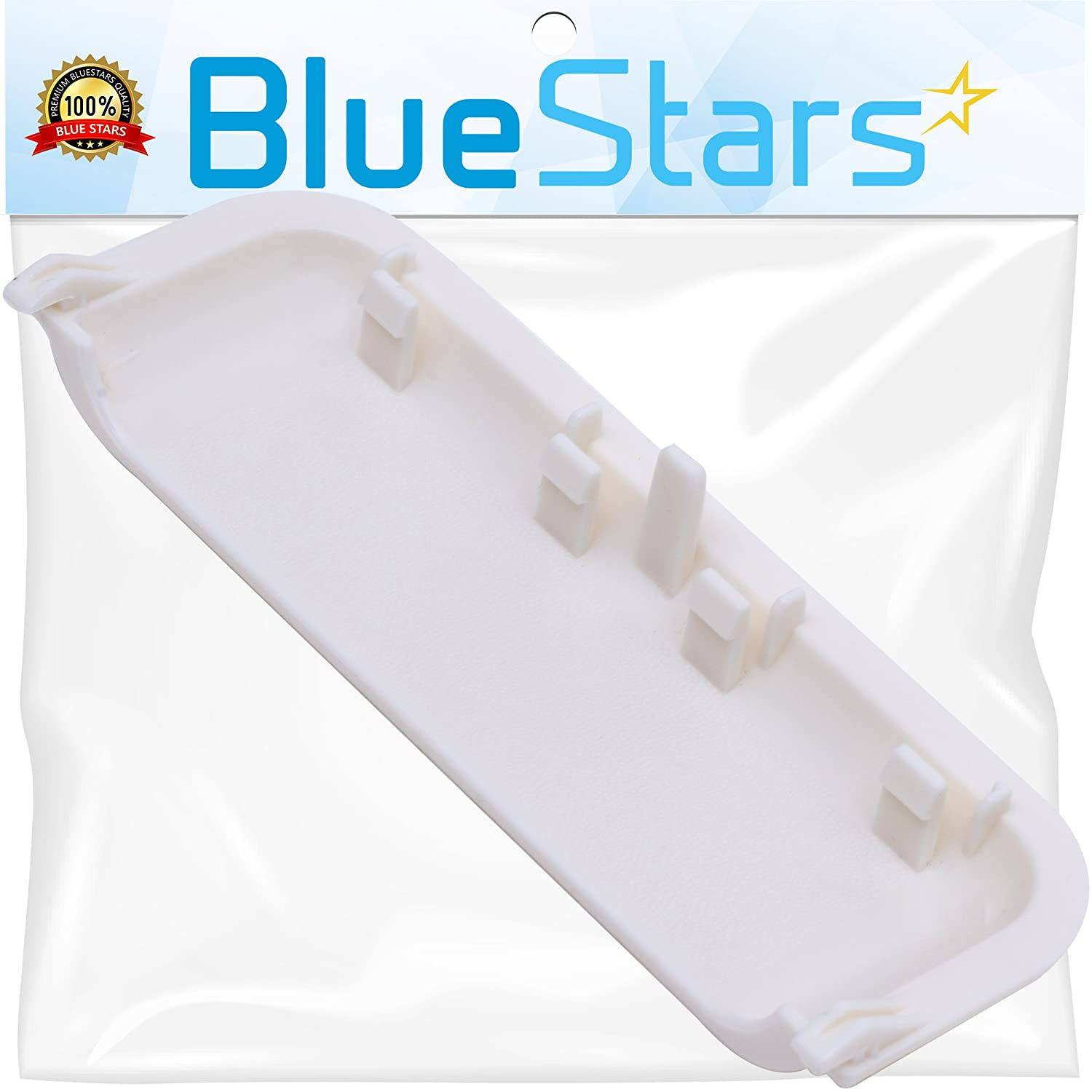 Ultra Durable W10861225 Dryer Door Handle Replacement by Blue Stars - Exact Fit for Whirlpool & Kenmore Dryer - Replaces AP5999398 PS11731583 W10714516