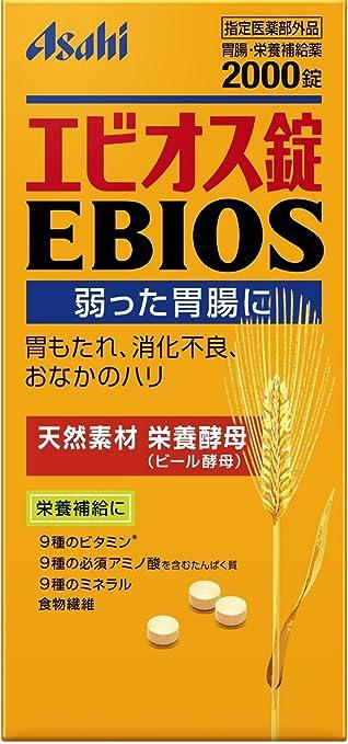アサヒグループ食品 エビオス錠