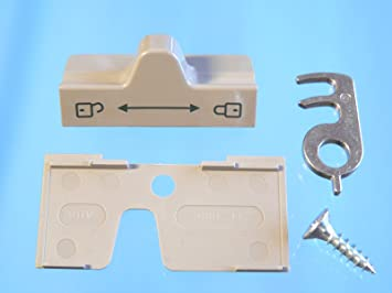 Dometic / Electrolux fridge door lock fixing kit for caravan & motorhome  fridge (7300)
