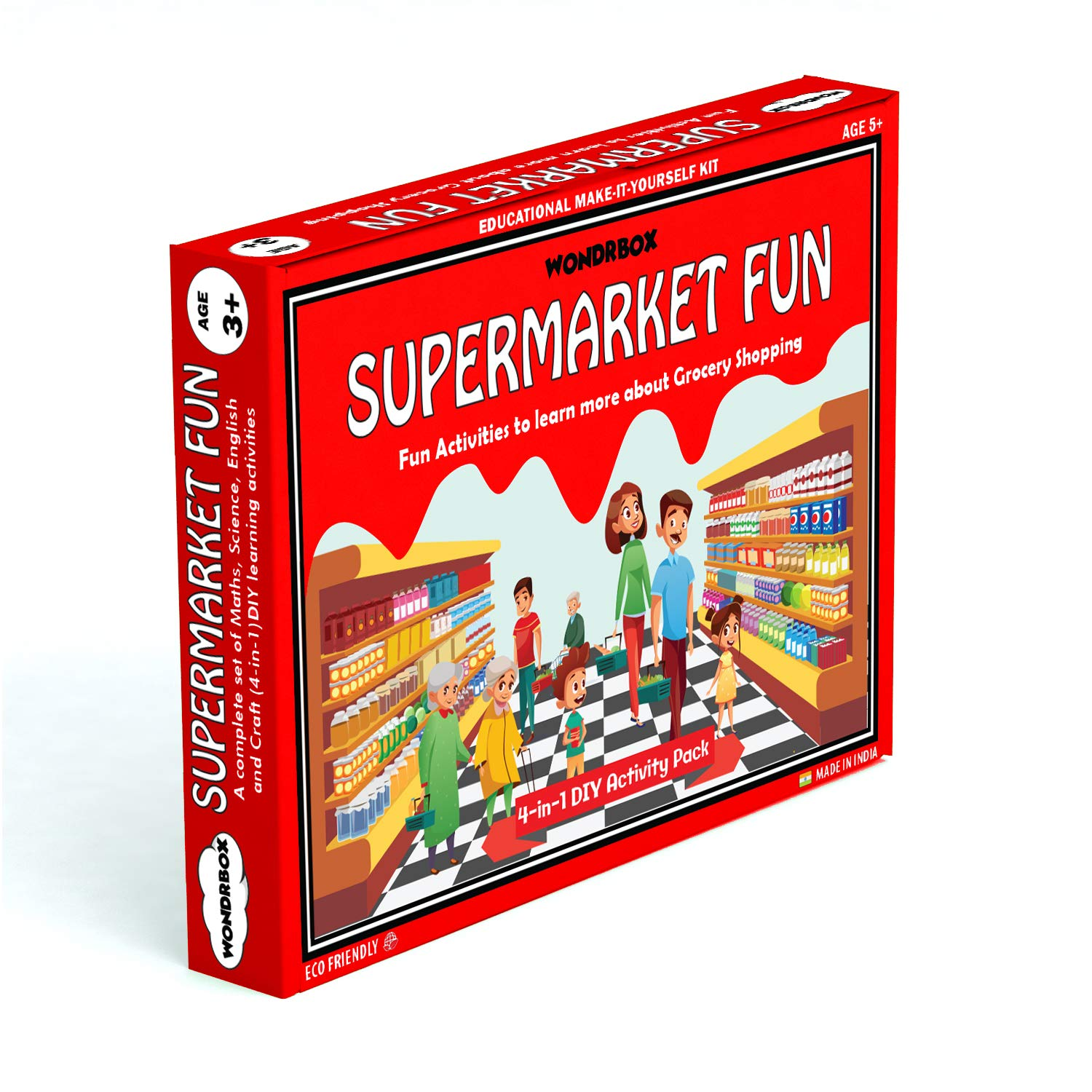 Buy Wondrbox Educational Toy Supermarket Fun Activity Kit For 3 5